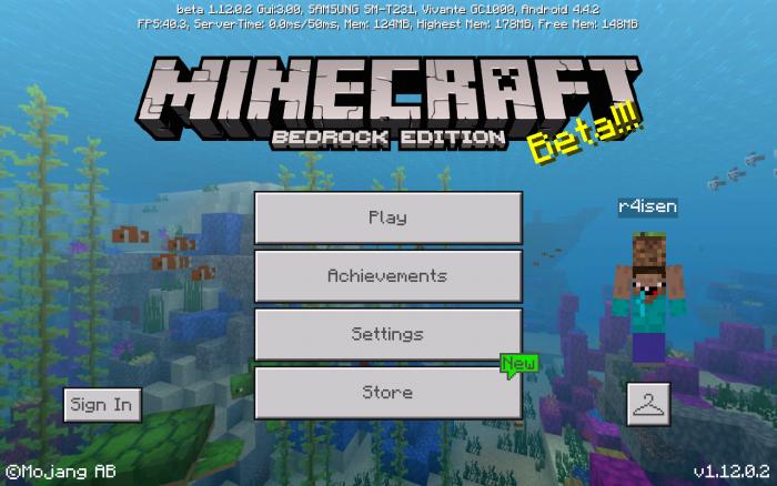 Bedrock TitlesUI (v1 4) | Minecraft PE Texture Packs