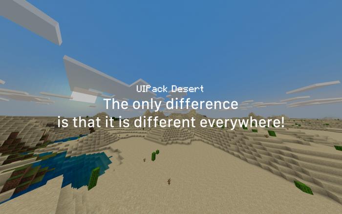 UIPack Desert Beta | Minecraft PE Texture Packs