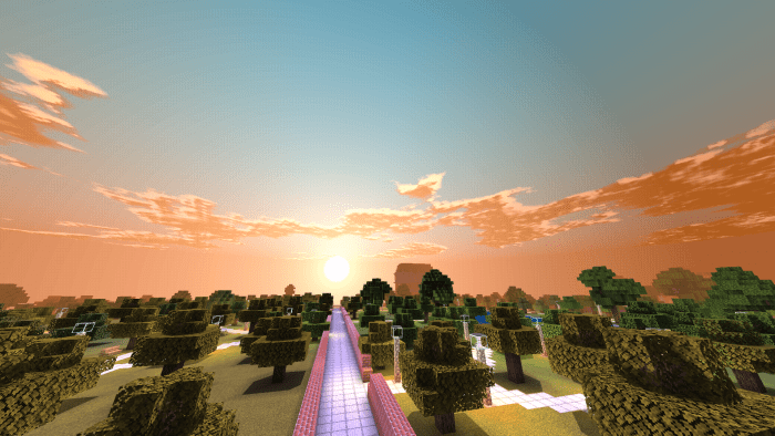 Fabric Light Pe Shaders Minecraft Pe Texture Packs