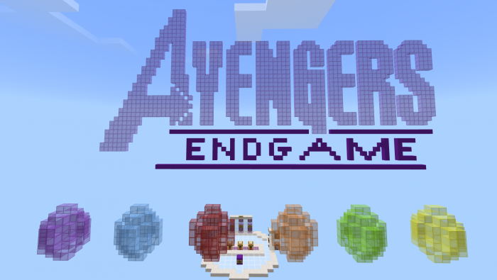 Avengers: Endgame Find the Infinity Stone Map | Minecraft PE
