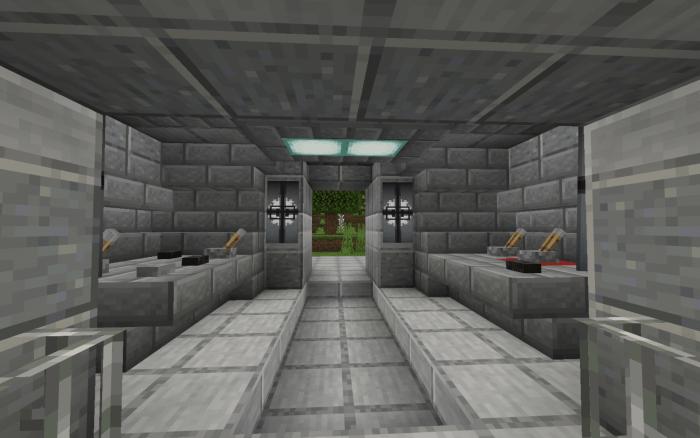 Redstone Bunker Minecraft Map