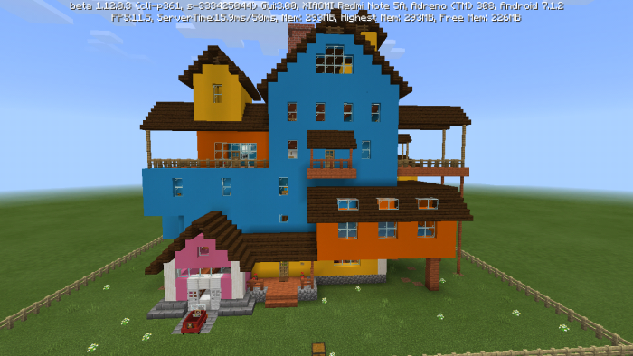 minecraft hello neighbor map alpha 2