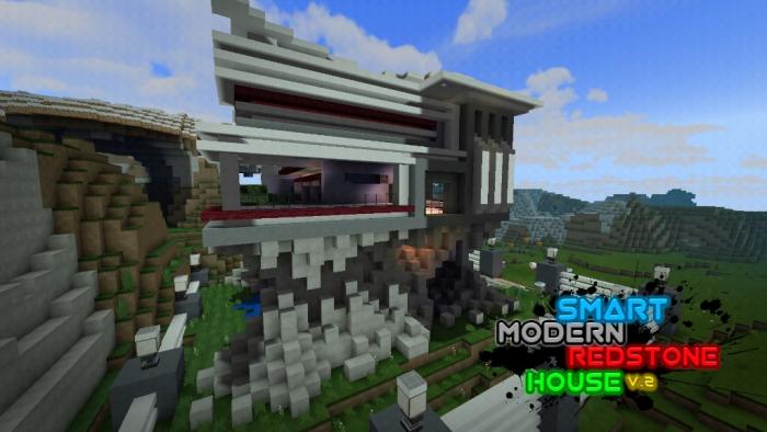 Smart Modern House Minecraft Pe Maps