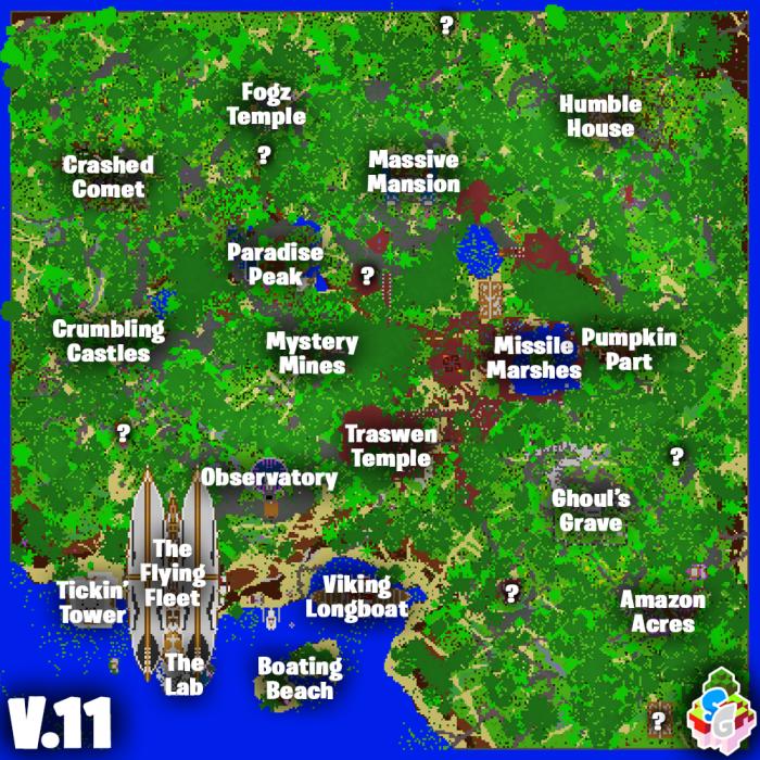 Sg Fortnite V11 Battle Royale Minecraft Pe Maps