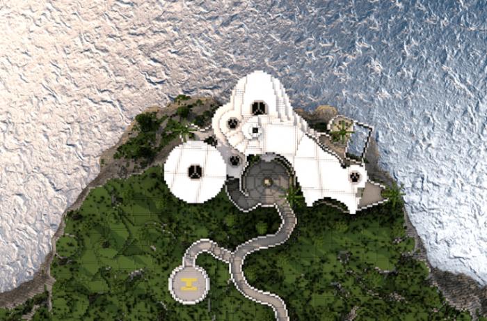 minecraft stark mansion download