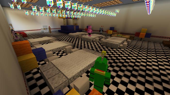 Freddy Fazbear's Pizzeria Simulator | Minecraft PE Maps