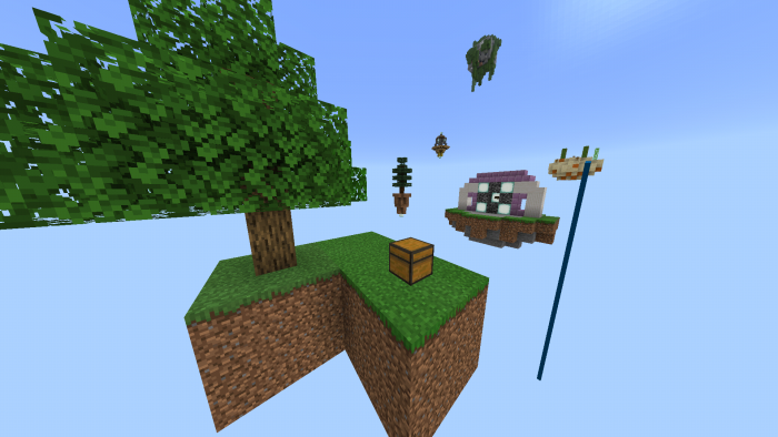 Extreme SkyBlock (BETA) | Minecraft PE Maps