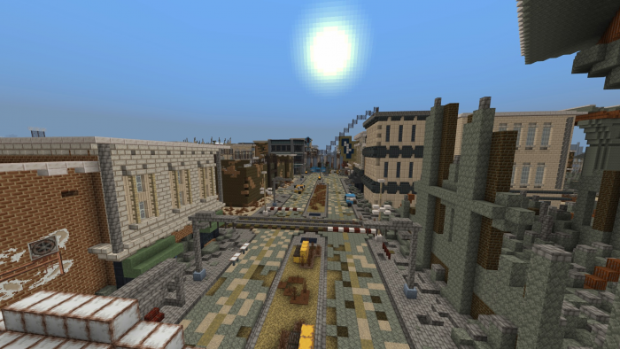 Fallout: New Vegas – Freeside (unfinished world) | Minecraft ...