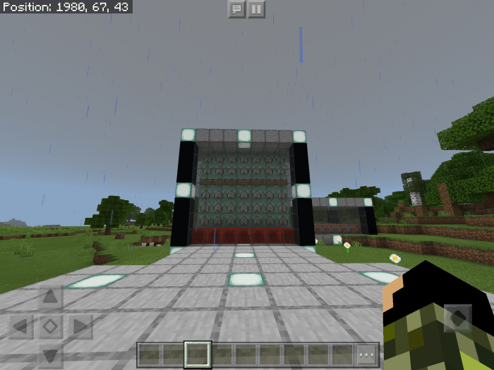 Working Security Cameras for Minecraft Pocket Edition