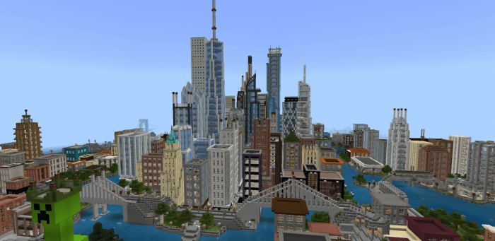 Mine York City | Minecraft PE Maps