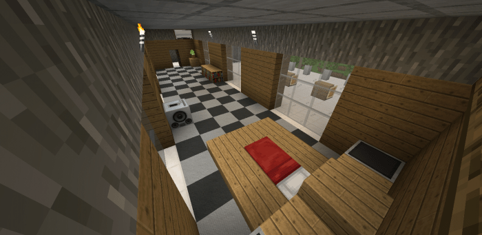 The Modern House | Minecraft PE Maps