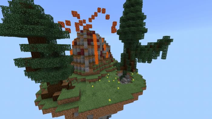 New SkyBlock Village&Pillage | Minecraft PE Maps