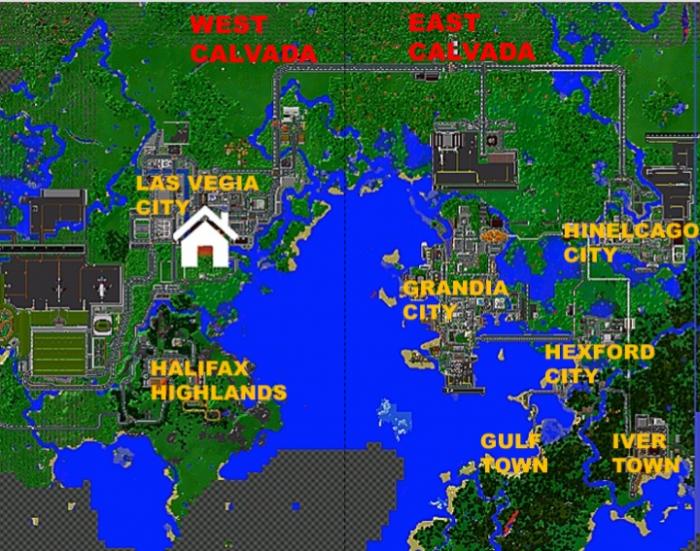 Mojave Region [Creation] | Minecraft PE Maps