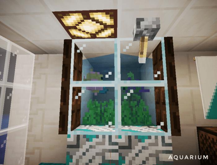 Small Modern House Minecraft Pe Maps