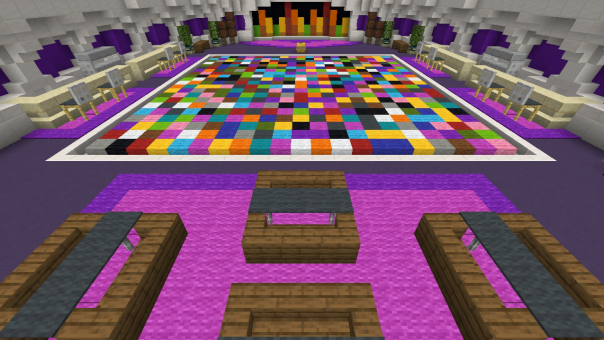 PG BlockParty Minecraft PE Maps