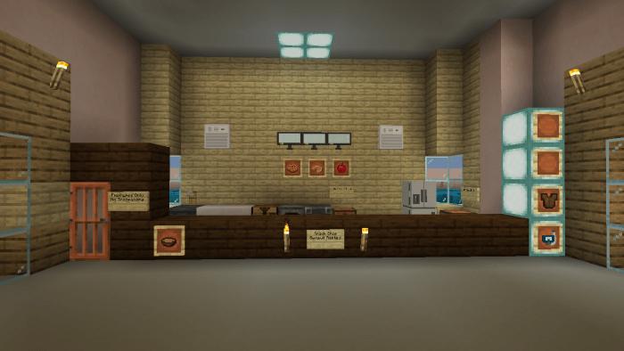 Spa Castle Mcpe Creation Minecraft Pe Maps