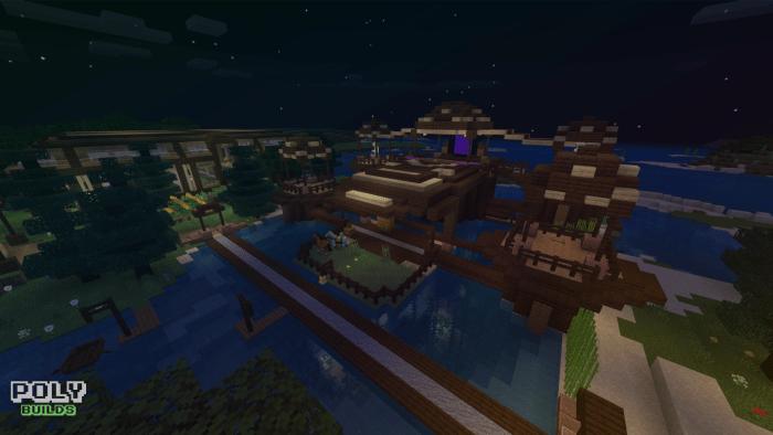 Epic Survival House Minecraft Pe Maps