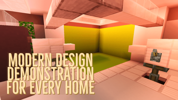 Modern Interior Ideas For Builds Minecraft Pe Maps