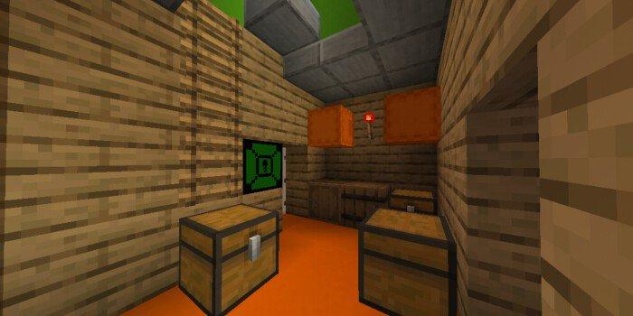 Secret Neighbor - Murder Mystery 5 Players   Minecraft PE Maps