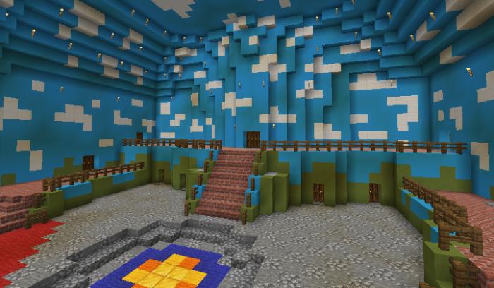 Toadstool Castle [Creation] | Minecraft PE Maps