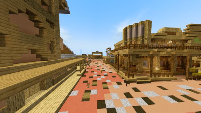Western Town Minecraft Pe Maps