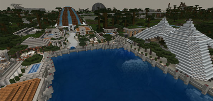 Juric Minecraft | Isla Nublar [MAP] | Minecraft PE Maps on