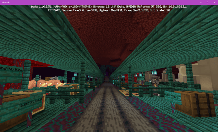 Nether Update Features Review Map 1 16 Beta Only Minecraft Pe Maps