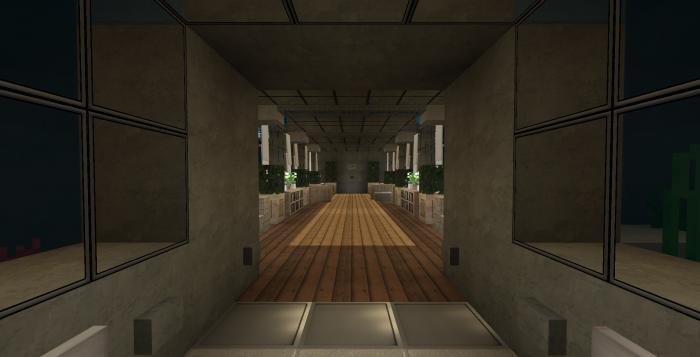 Modern island mansion commands minecraft pe maps