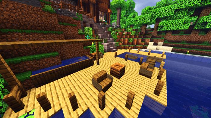Survival House Map Building Minecraft Pe Maps