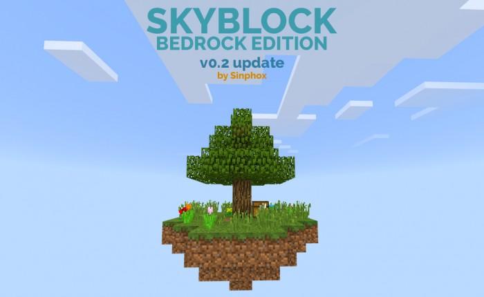 Skyblock Bedrock Edition! (V0 2 Update) | Minecraft PE Maps