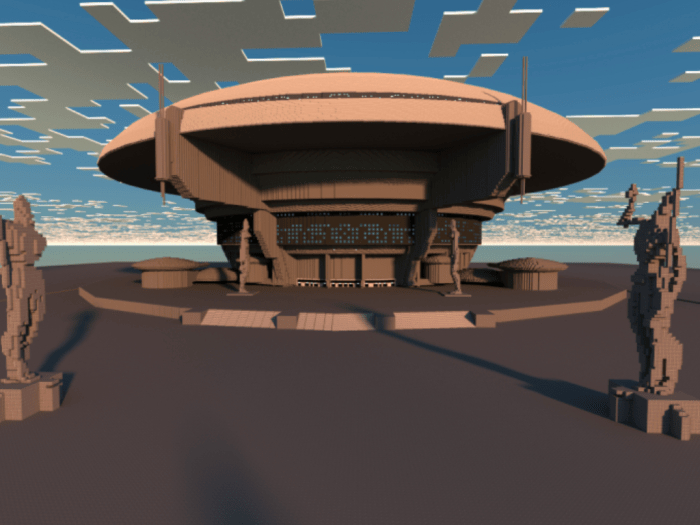 MCPE/Bedrock Star Wars: The Senate Building [Creation ...