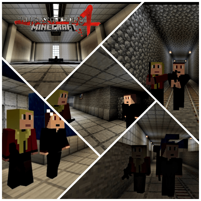 The House Of The Dead 4 Chapter 3 Minecraft Pe Maps