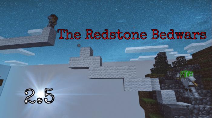 The Redstone Bedwars [PvP] [Minigame] | Minecraft PE Maps